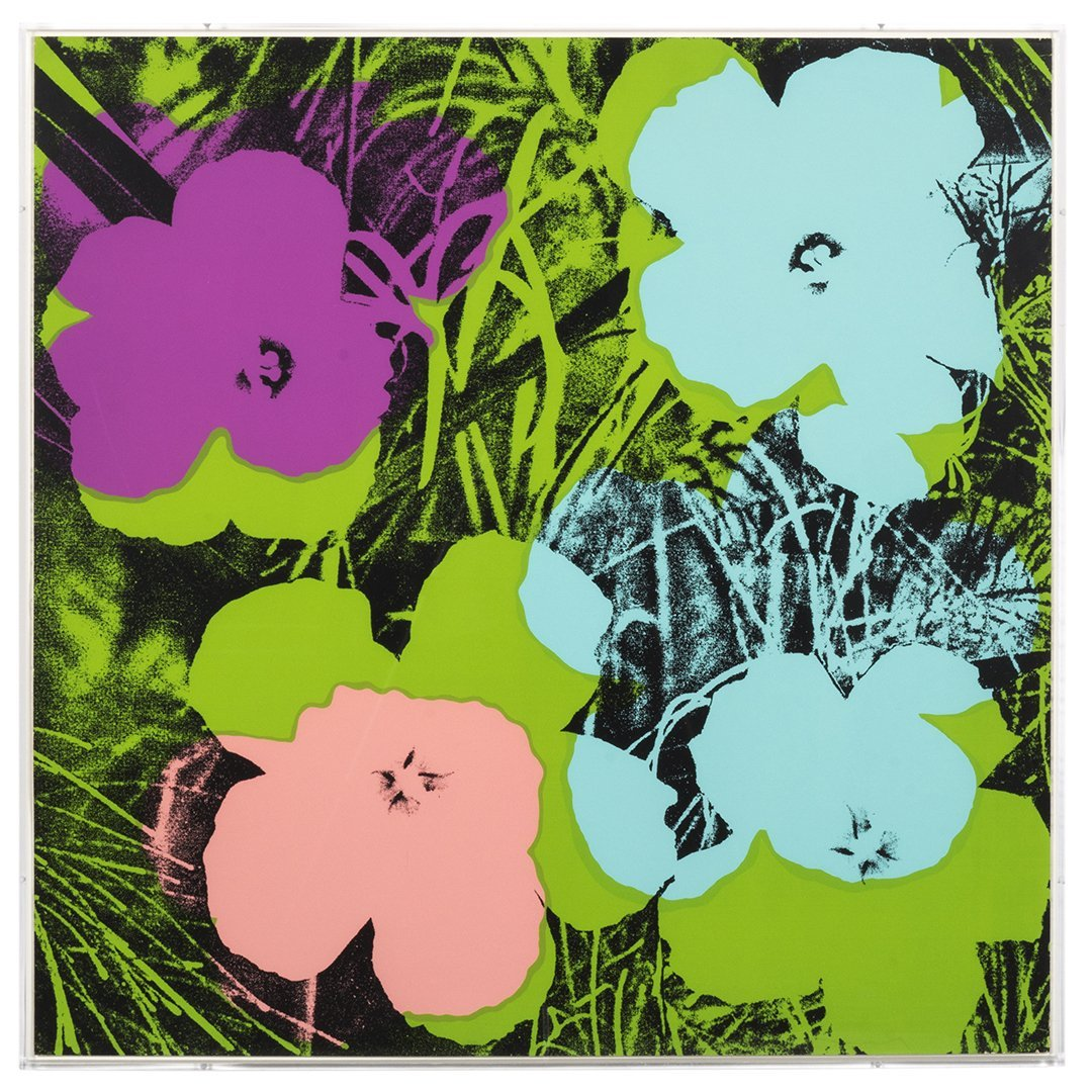 Flowers Serigraphs by Andy Warhol (10) - 7
