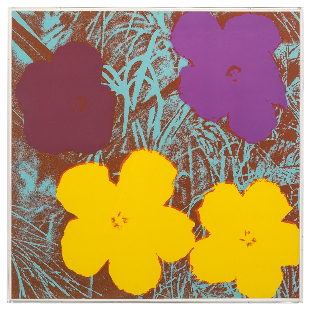 Flowers Serigraphs by Andy Warhol (10) - 8
