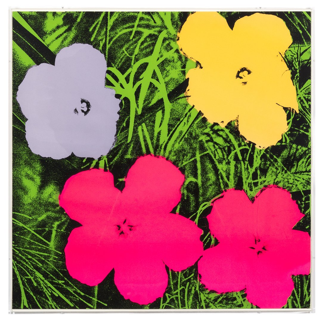 Flowers Serigraphs by Andy Warhol (10) - 9
