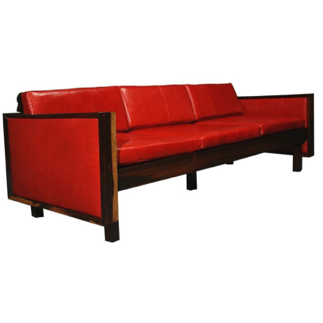 Fatima Architects Leather Sofa