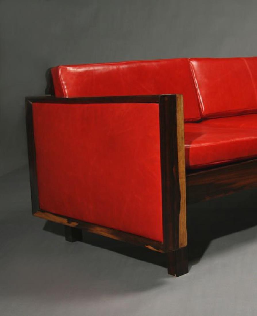 Fatima Architects Leather Sofa - 2