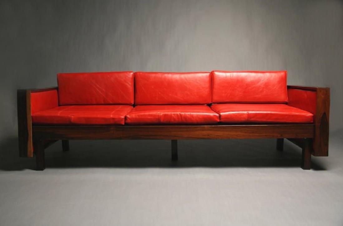 Fatima Architects Leather Sofa - 3