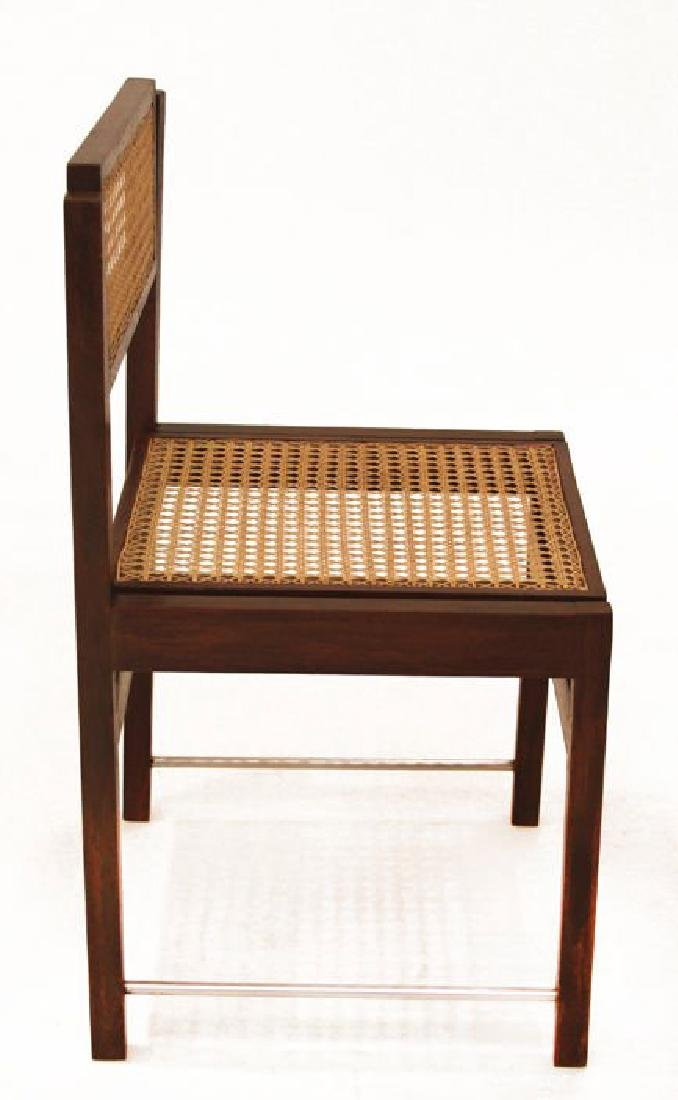 Brazilian Hardwood Swivel Back Dining Chairs (6) - 2