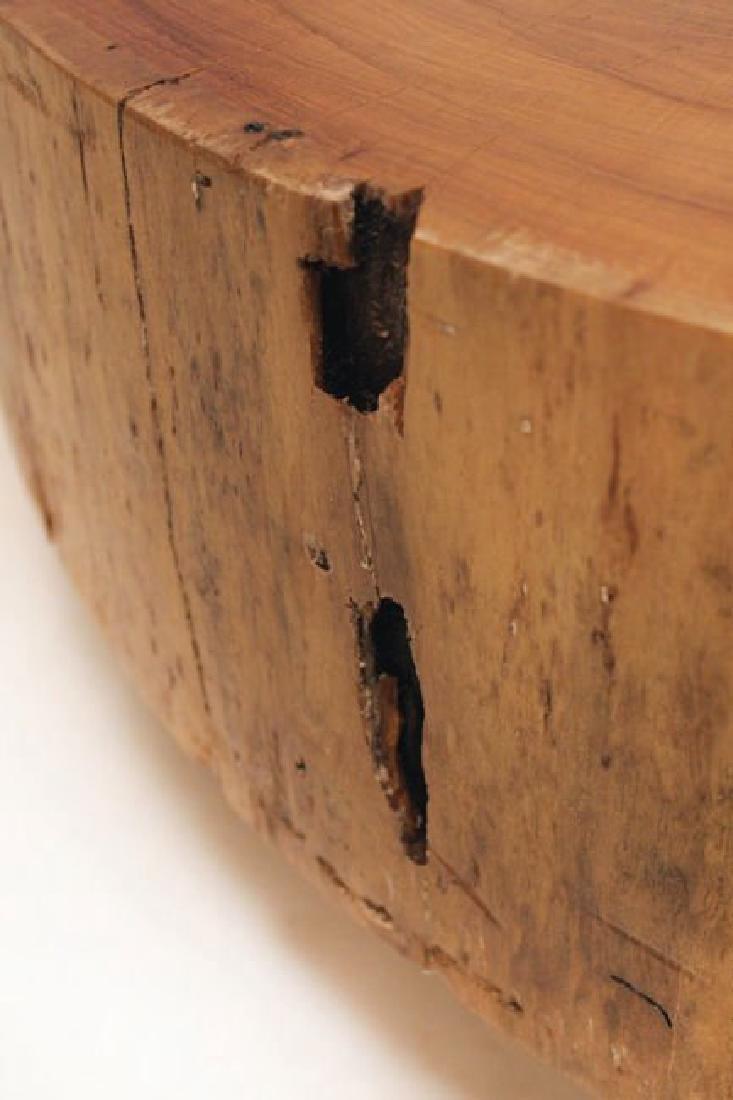 Peroba Wood Block Coffee Table - 3