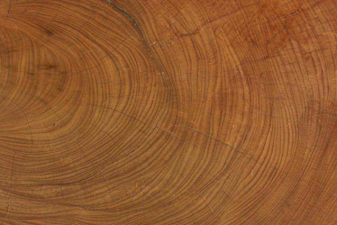 Peroba Wood Block Coffee Table - 4