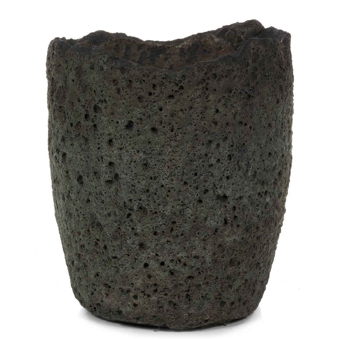Large Metal Smelting Pot