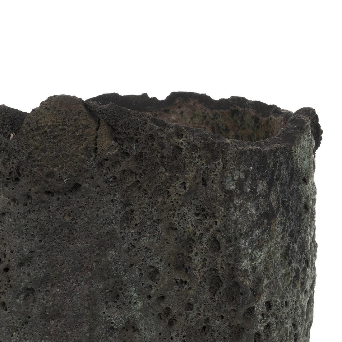 Large Metal Smelting Pot - 4