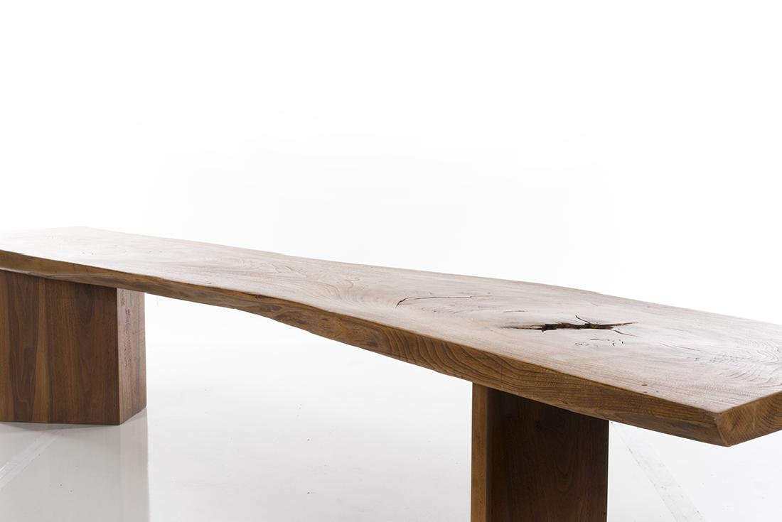 Craftsman Made Live Edge Bench - 4