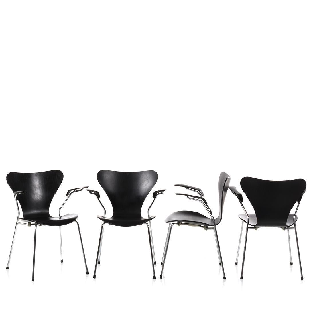 Arne Jacobsen Armchairs (6) - 2