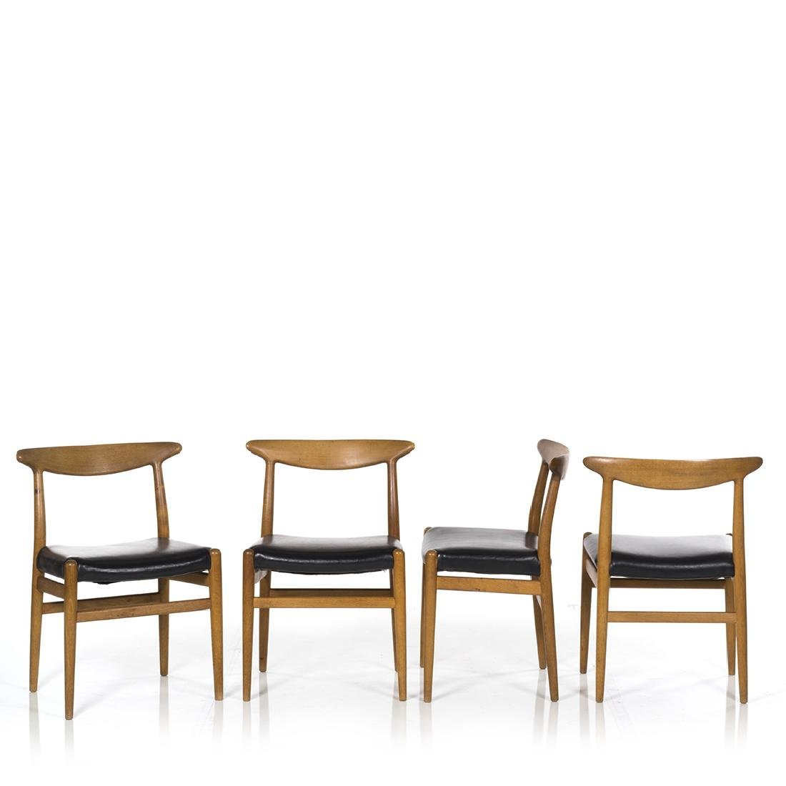 Hans Wegner Dining Chairs (4) - 2