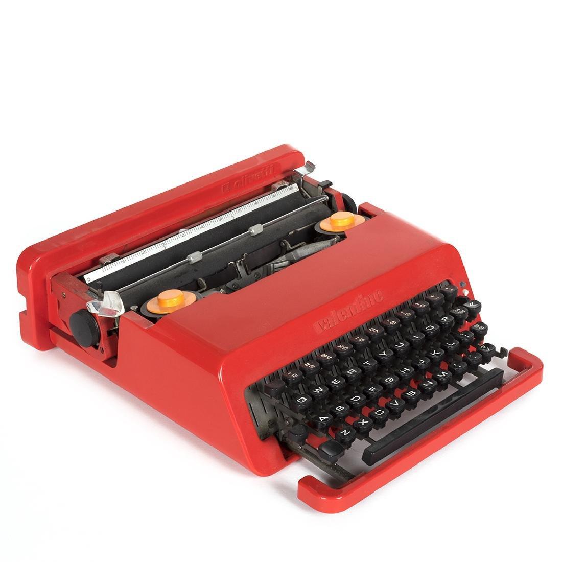 Ettore Sottsass Valentine Typewriter