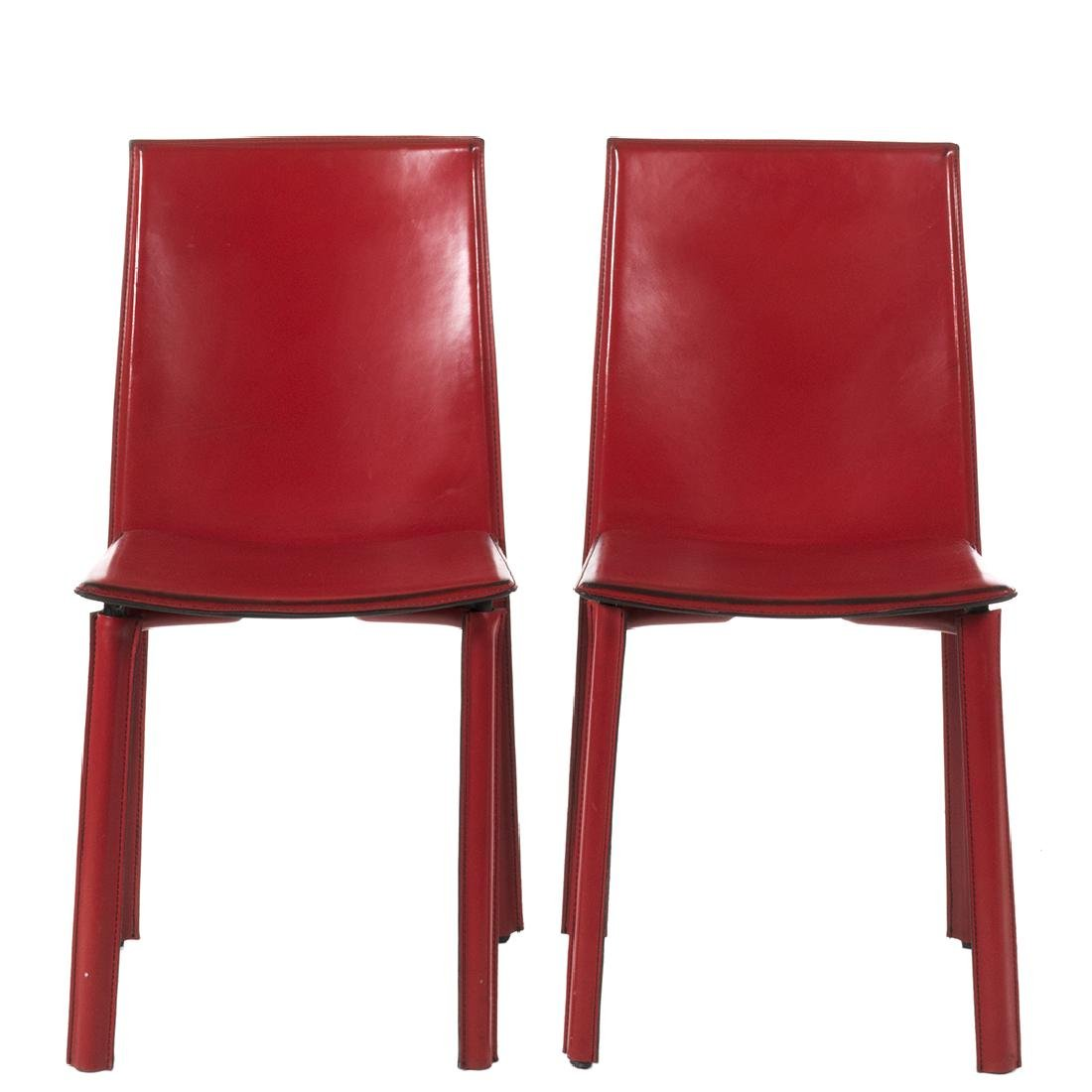 Mario Bellini Style Chairs (2)