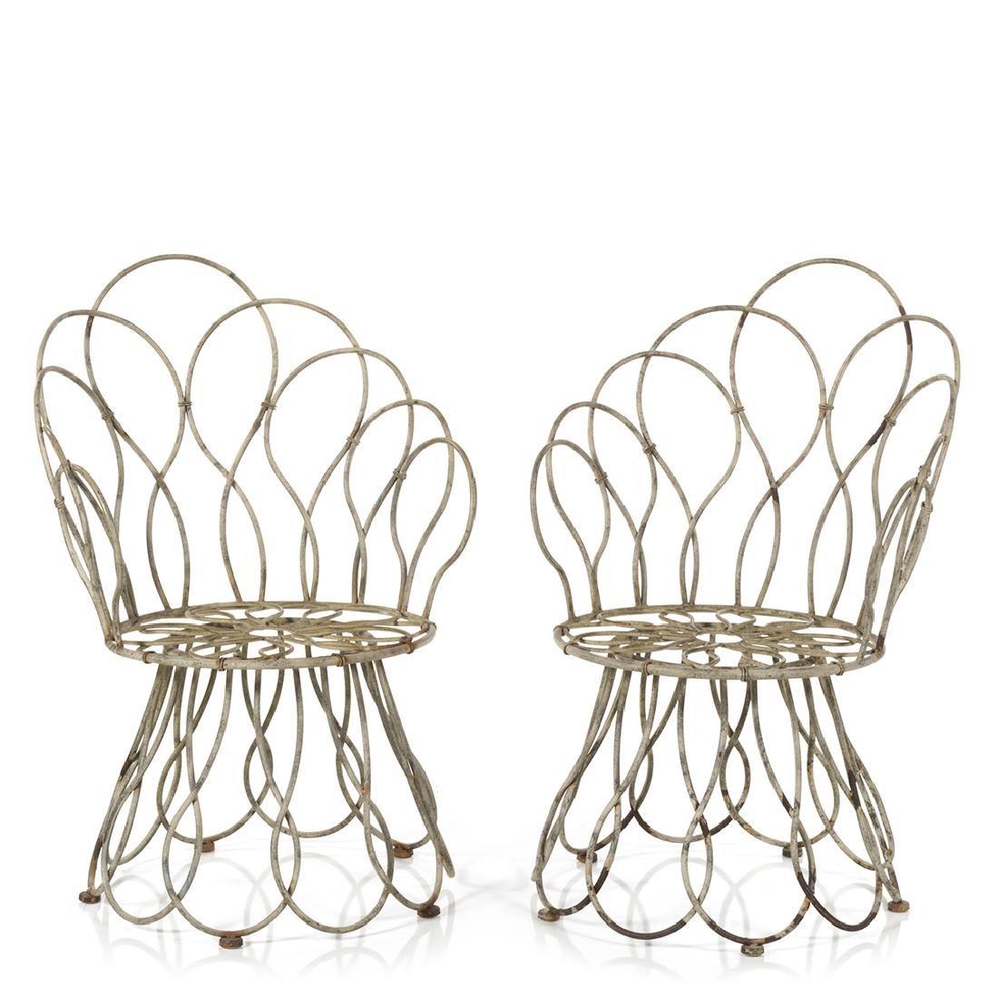 Sculptural Garden Chairs (2)