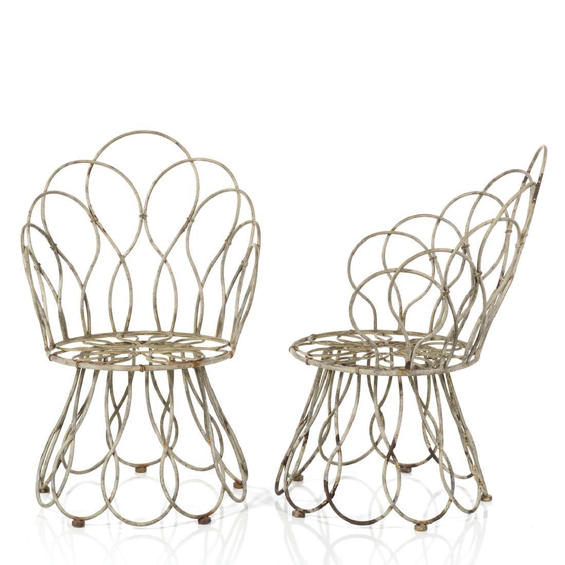 Sculptural Garden Chairs (2) - 2