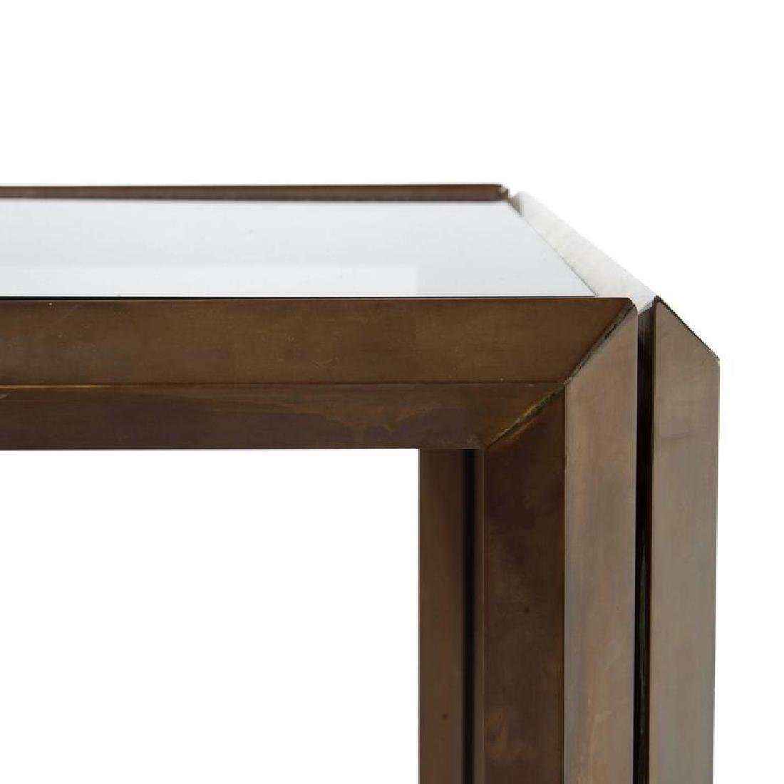 Mid-Century Bronze Side Table - 3
