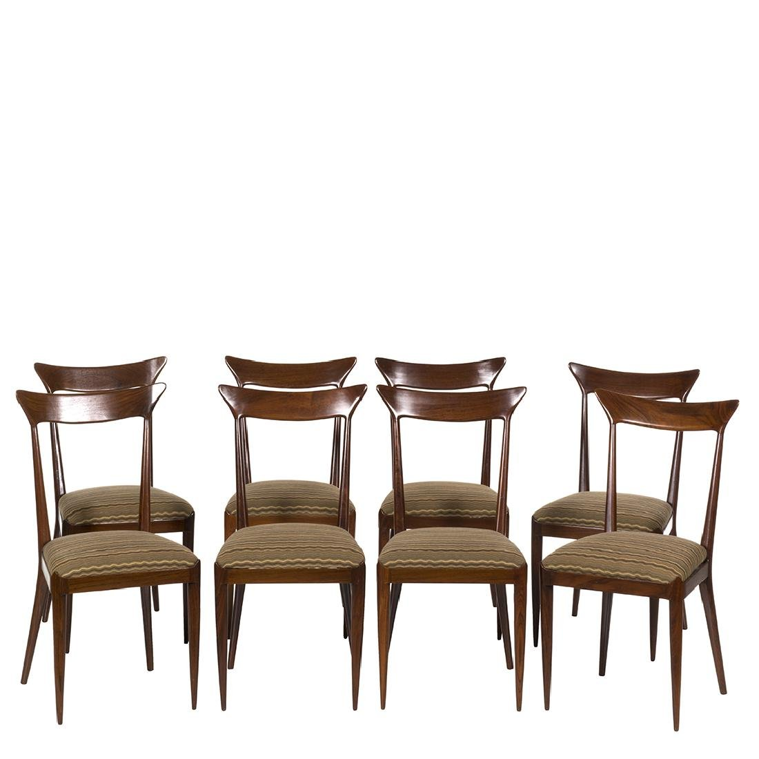 Ico Parisi Dining Chairs(8)