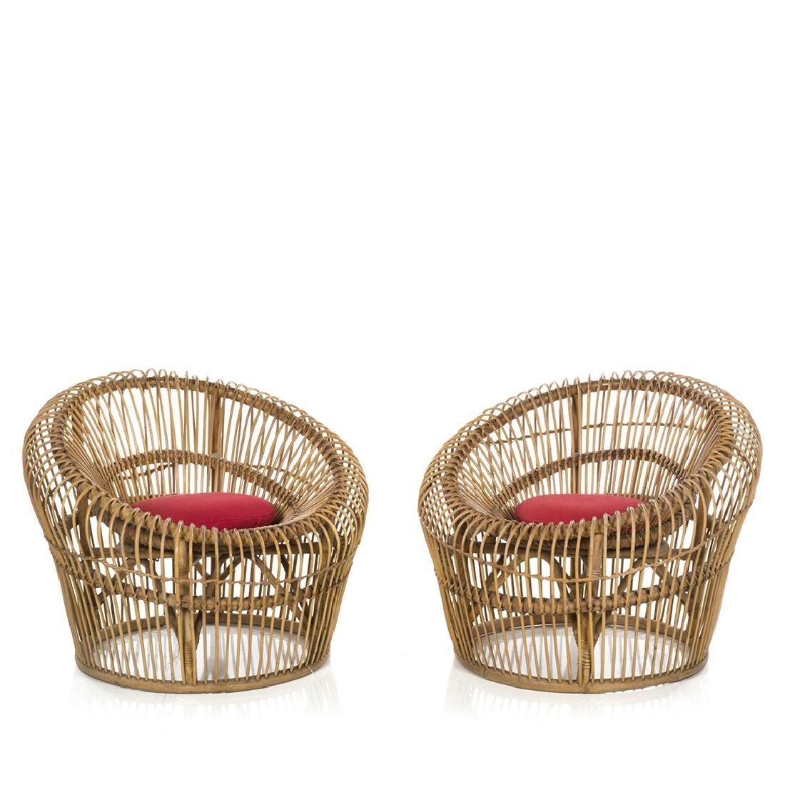 Franco Albini Lounge Chairs (2)