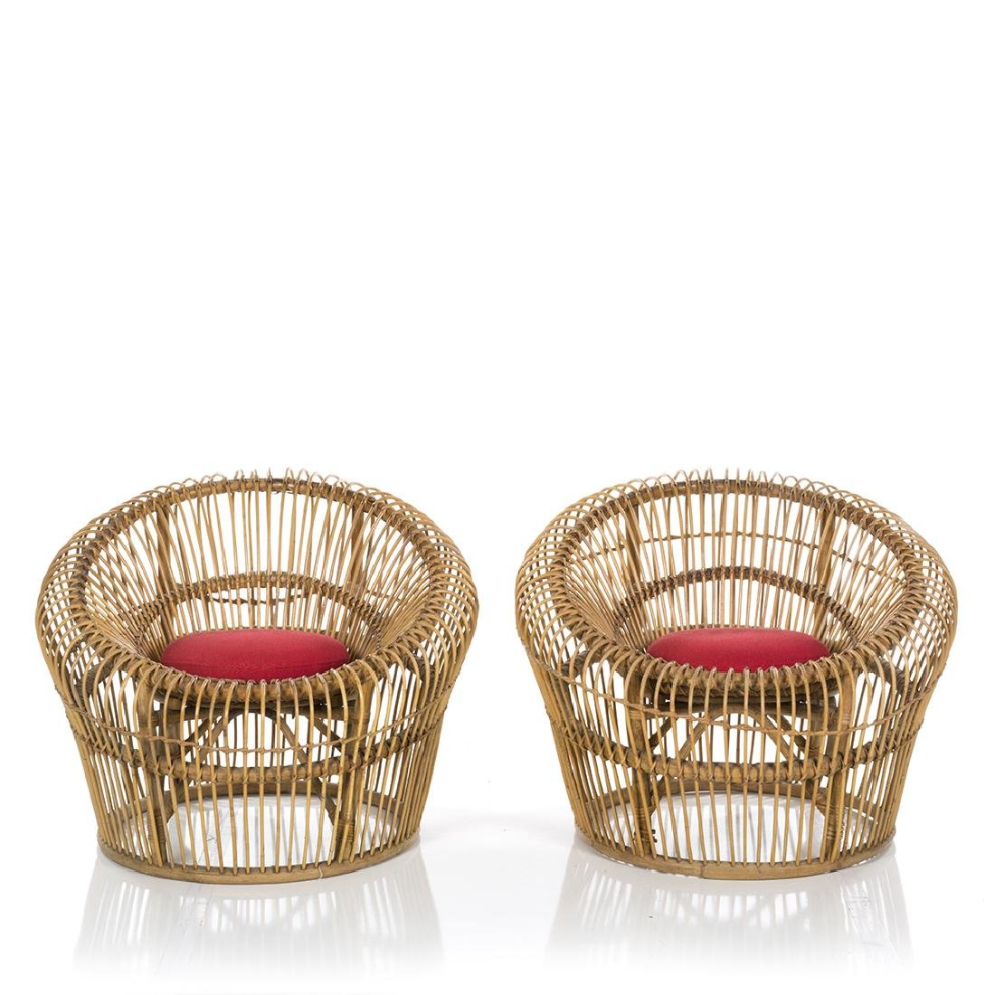 Franco Albini Lounge Chairs (2) - 2