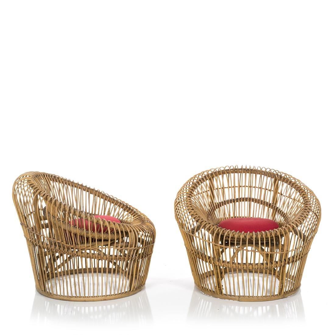 Franco Albini Lounge Chairs (2) - 3