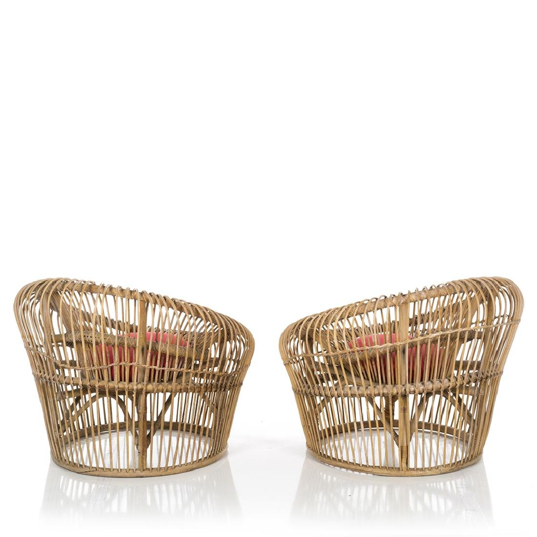 Franco Albini Lounge Chairs (2) - 4