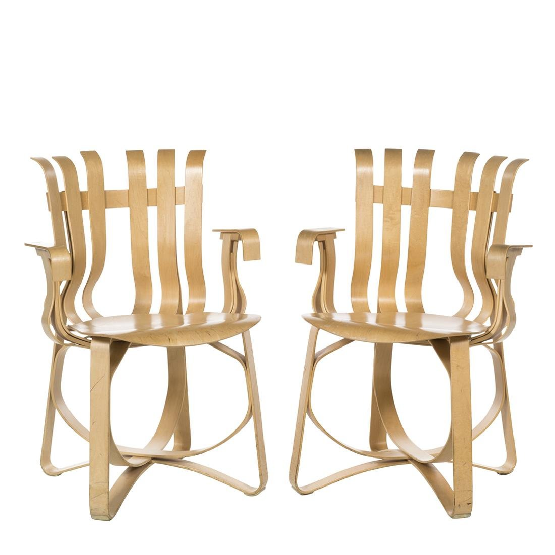 Frank Gehry Hat Trick Chairs (2)