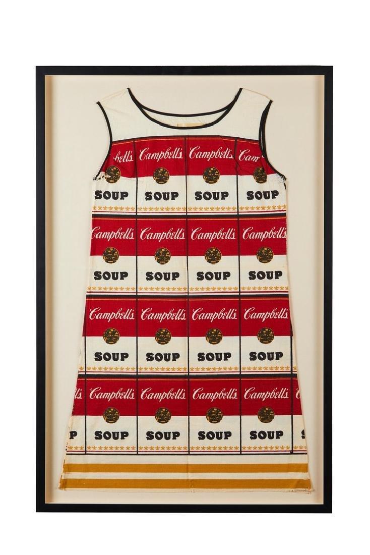 Souper Paper Dress After Warhol