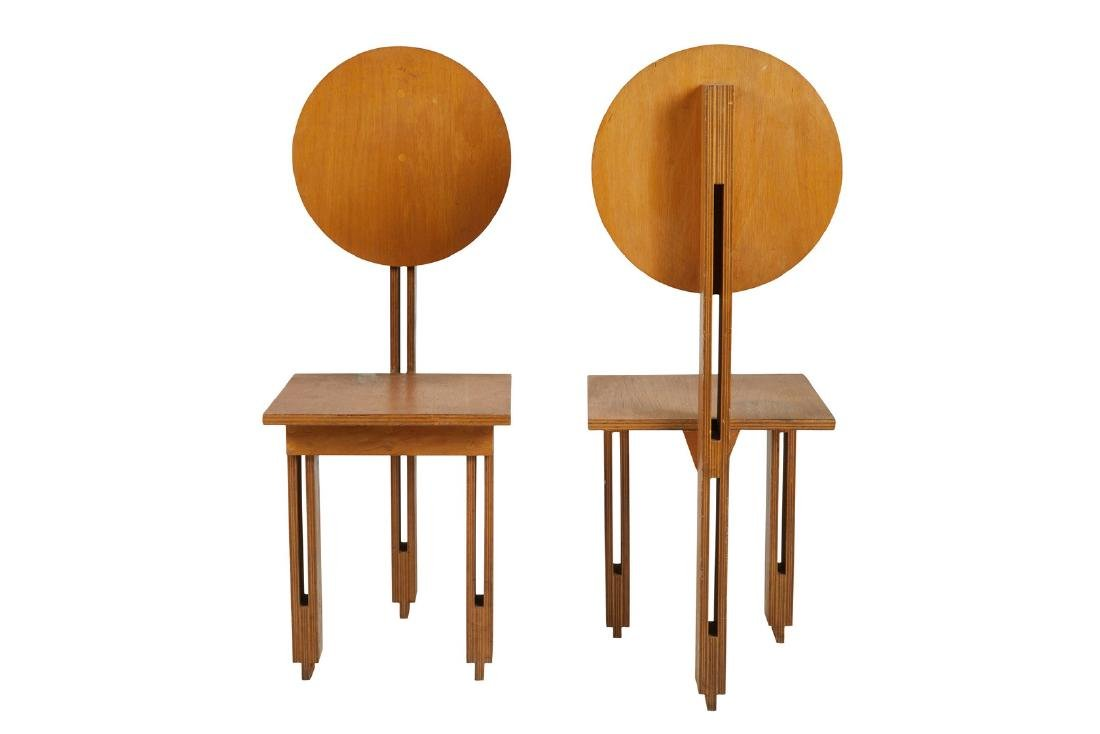 Architectural Plywood Chairs (2)