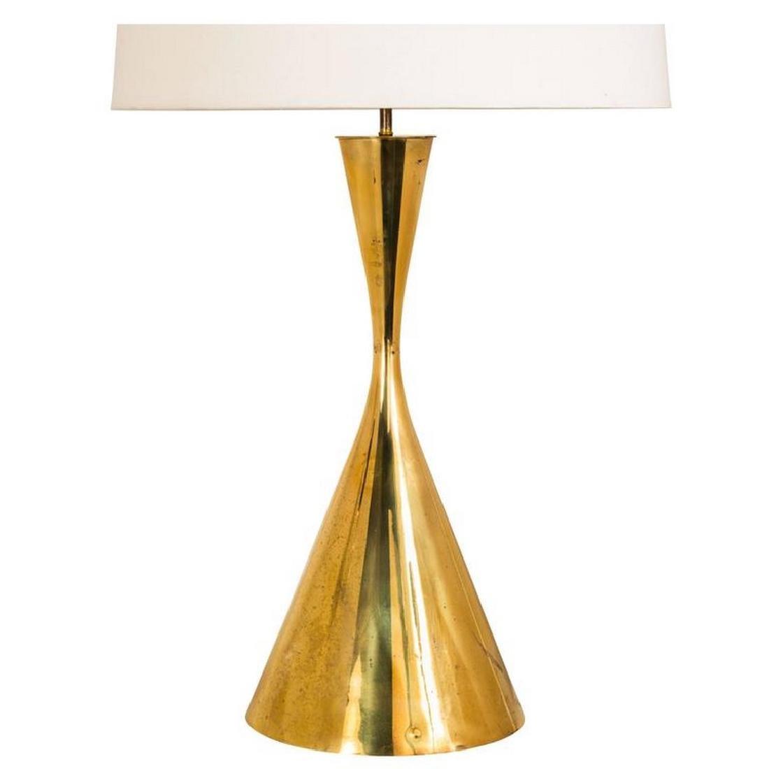 Angelo Lelli Brass Table Lamp