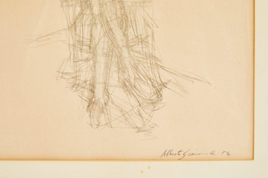 Alberto Giacometti Pencil Drawing - 2