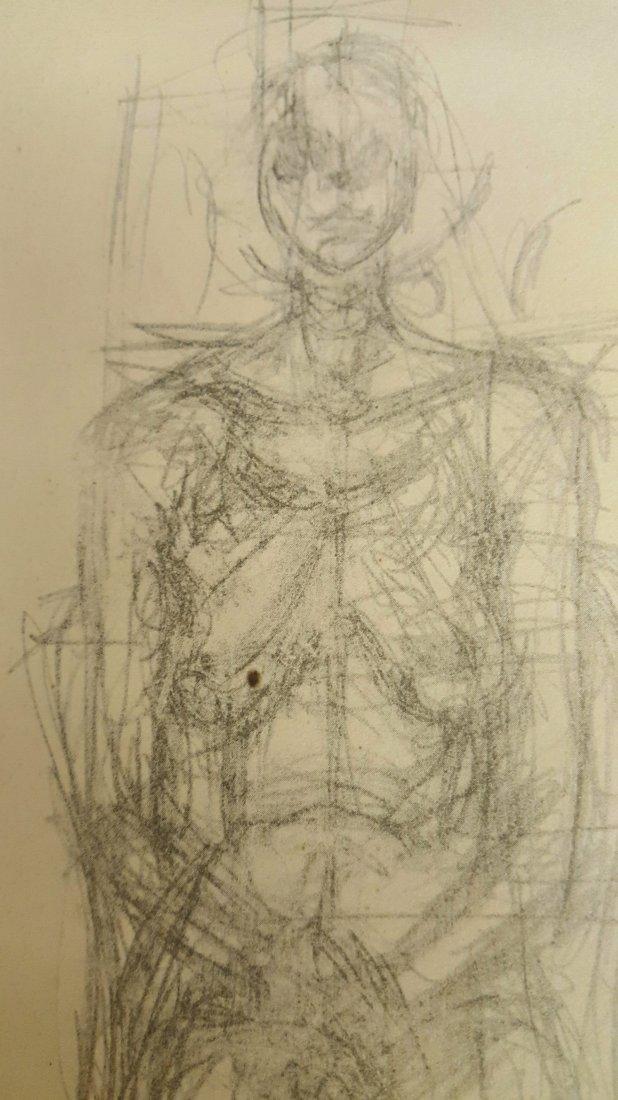 Alberto Giacometti Pencil Drawing - 4