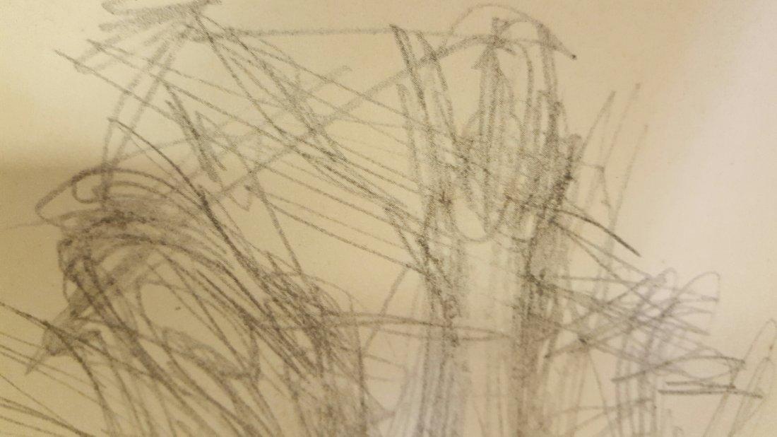 Alberto Giacometti Pencil Drawing - 5