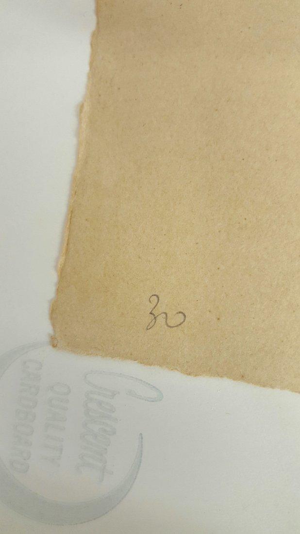 Alberto Giacometti Pencil Drawing - 7