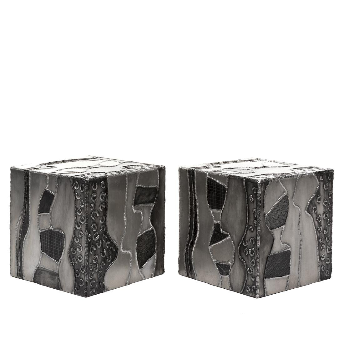 Paul Evans attributed  Argente Side Tables (2) - 2
