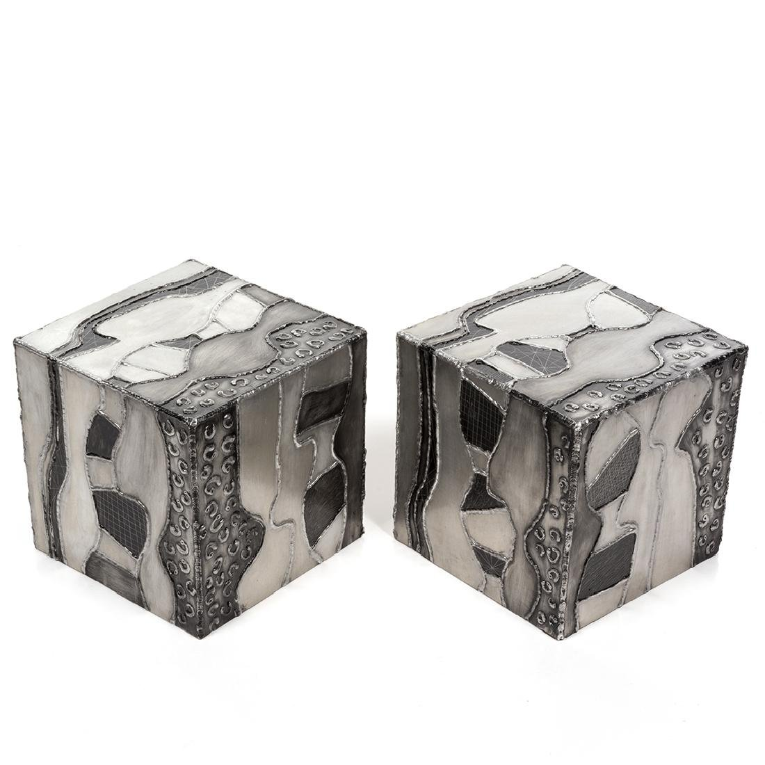 Paul Evans attributed  Argente Side Tables (2) - 3