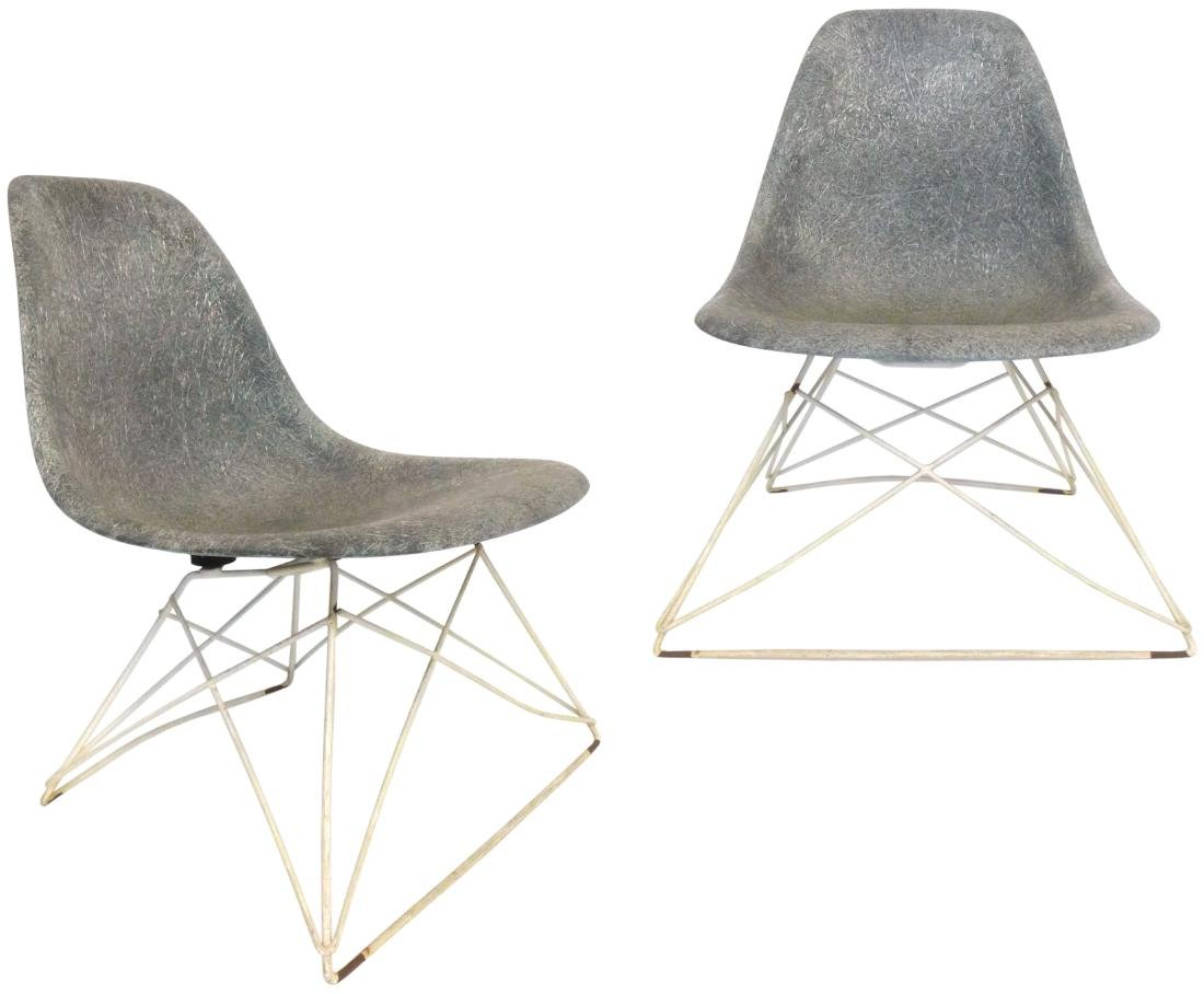 Charles Eames Cat's Cradle Side Chairs (2)