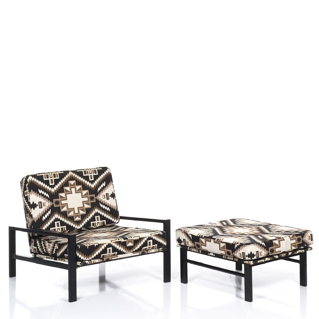 Van Keppel and Green Lounge Chair and Ottoman (2) - 2