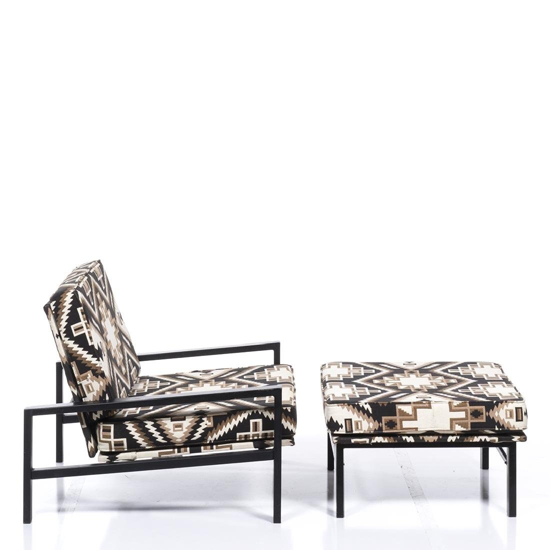 Van Keppel and Green Lounge Chair and Ottoman (2) - 3