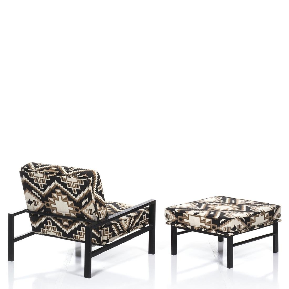 Van Keppel and Green Lounge Chair and Ottoman (2) - 4