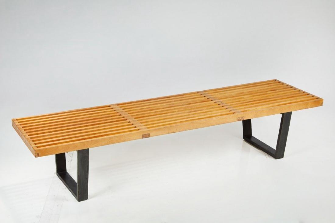 George Nelson Slat Bench - 2