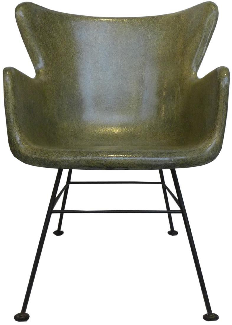 Lawrence Peabody Fiberglass Chair