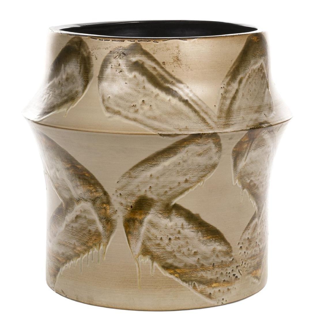 Glazed Ceramic Planter - 2