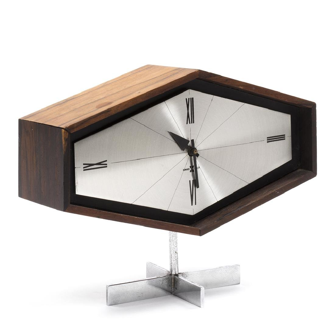 Arthur Umanoff Rosewood Clock