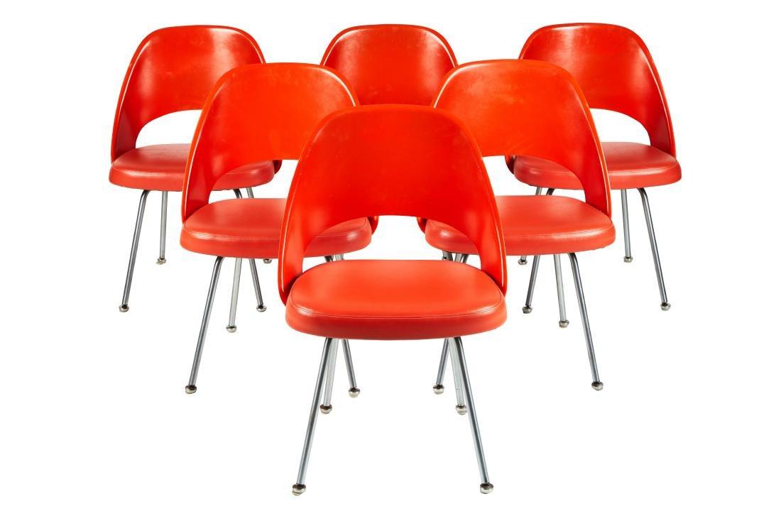 Eero Saarinen Dining Chairs (6)