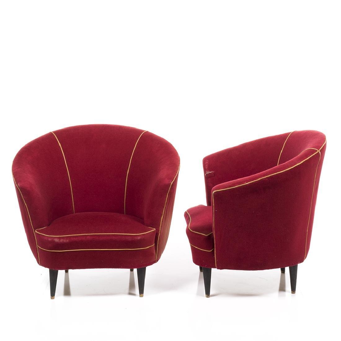 Italian Lounge Chairs (2) - 2