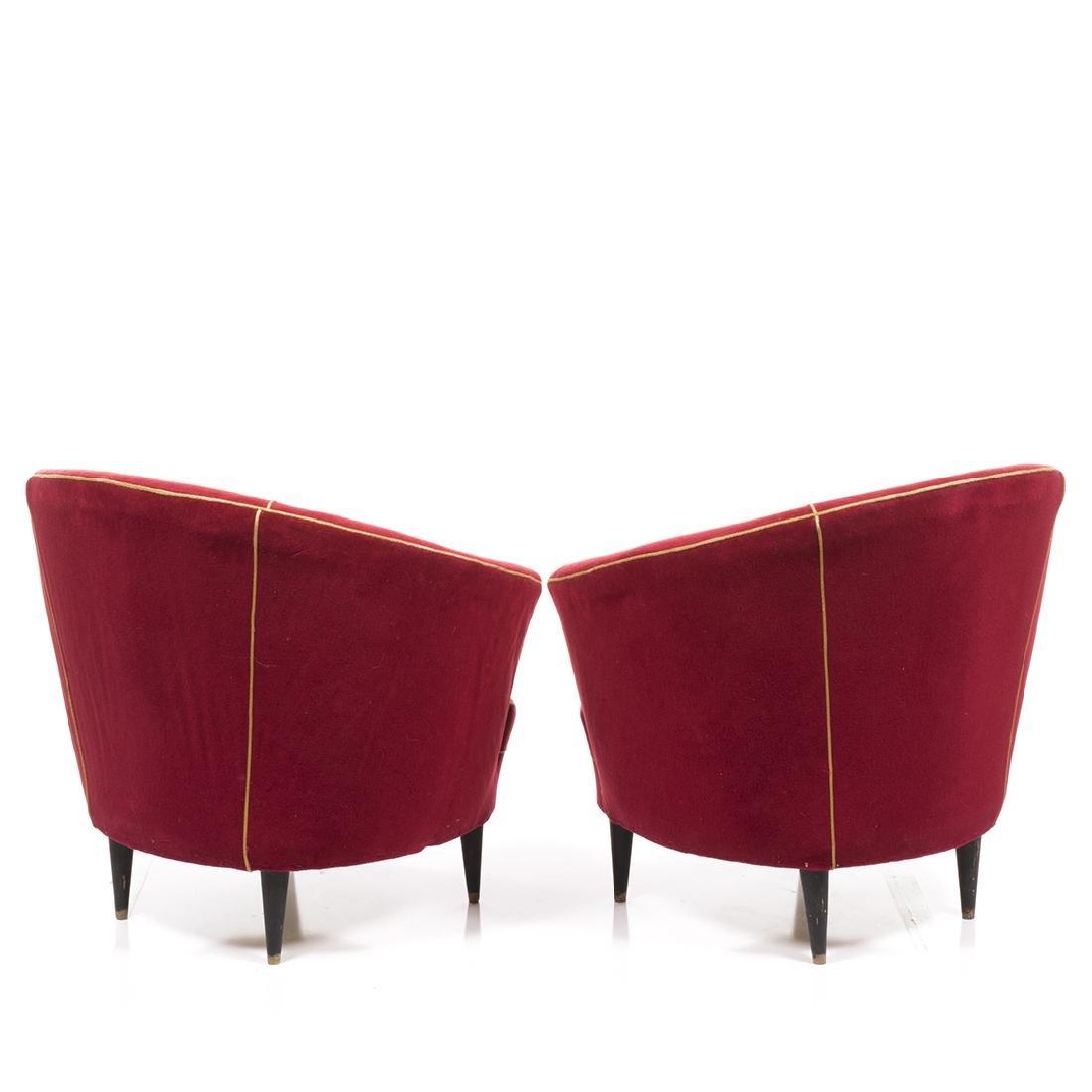 Italian Lounge Chairs (2) - 3