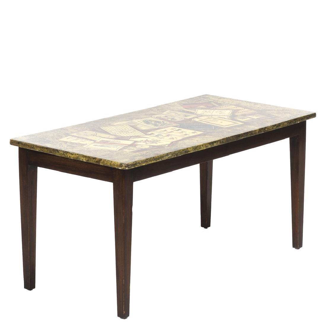 Piero Fornasetti Libri Coffee Table