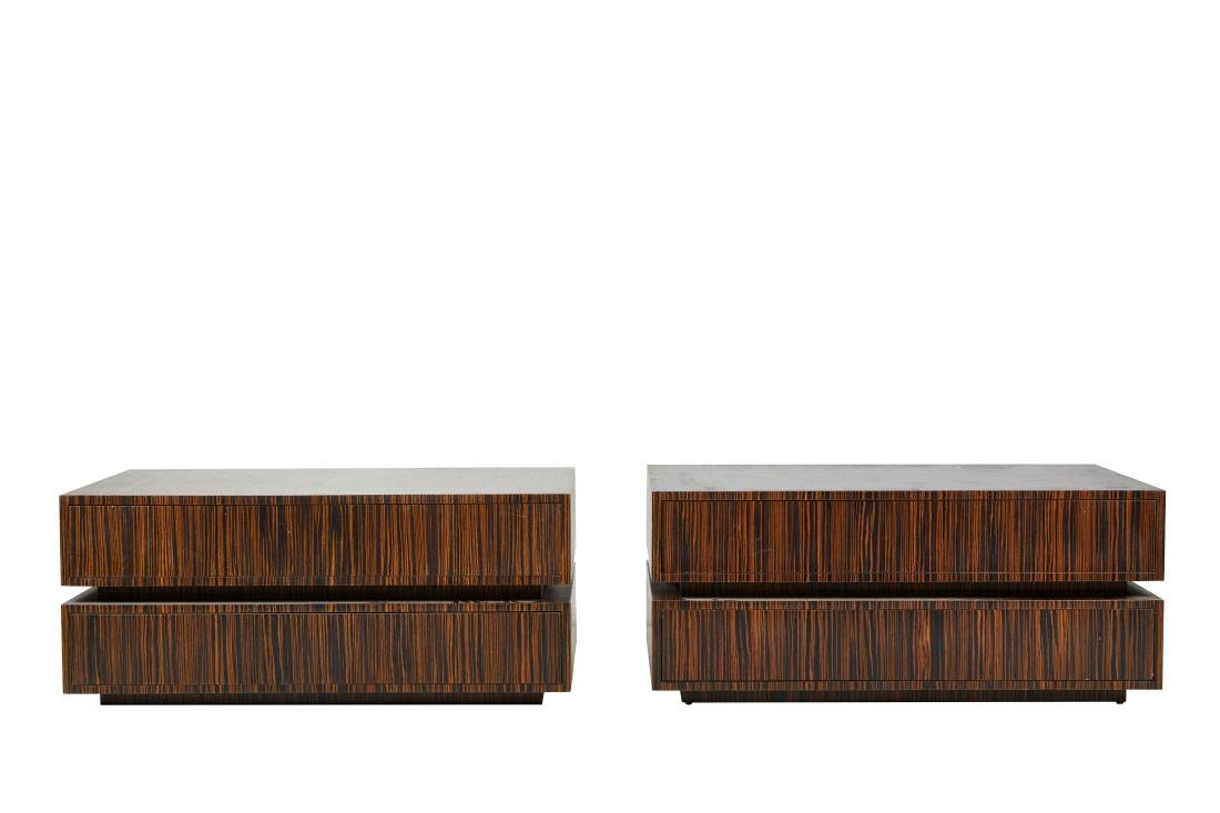 Macassar Ebony Tables (2)