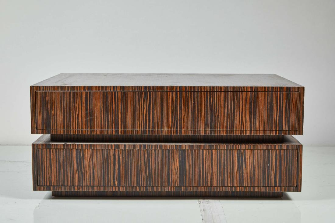 Macassar Ebony Tables (2) - 2