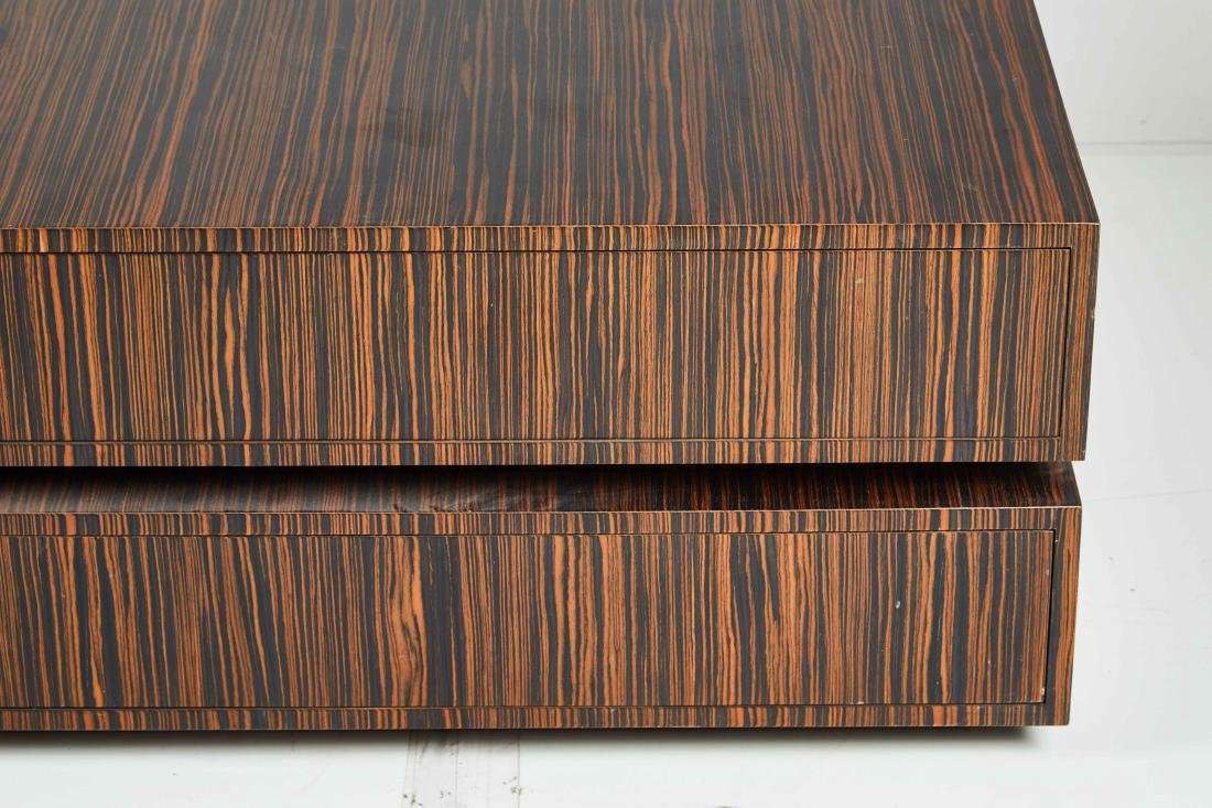 Macassar Ebony Tables (2) - 3