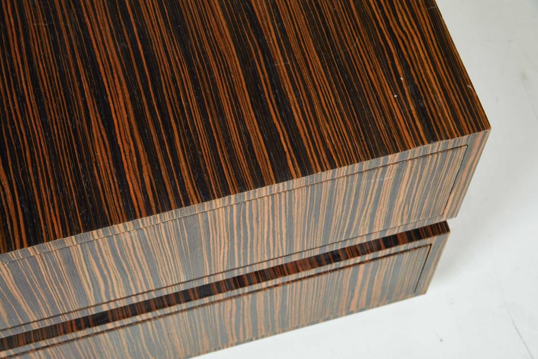 Macassar Ebony Tables (2) - 5